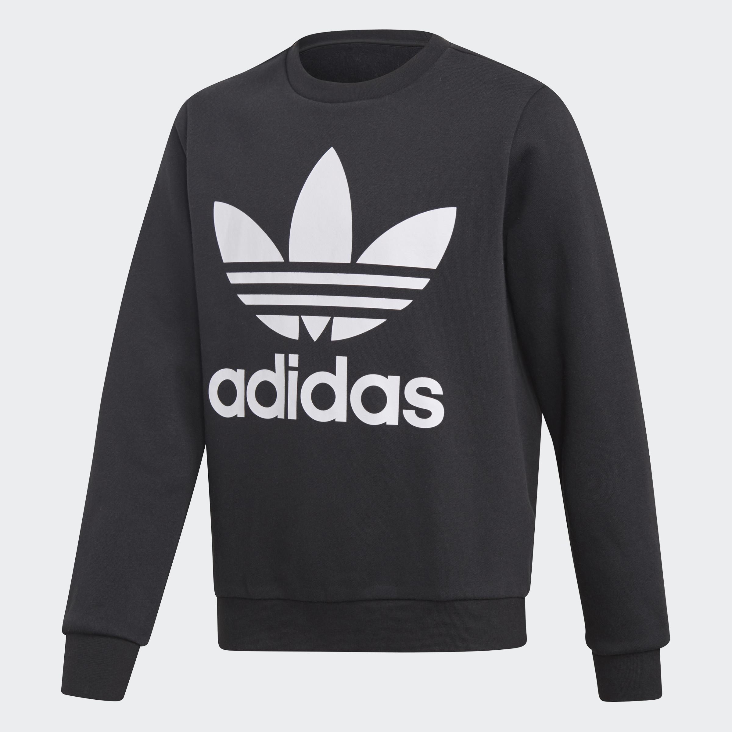 Details about adidas Originals Fleece Crew Sweatshirt Kids'