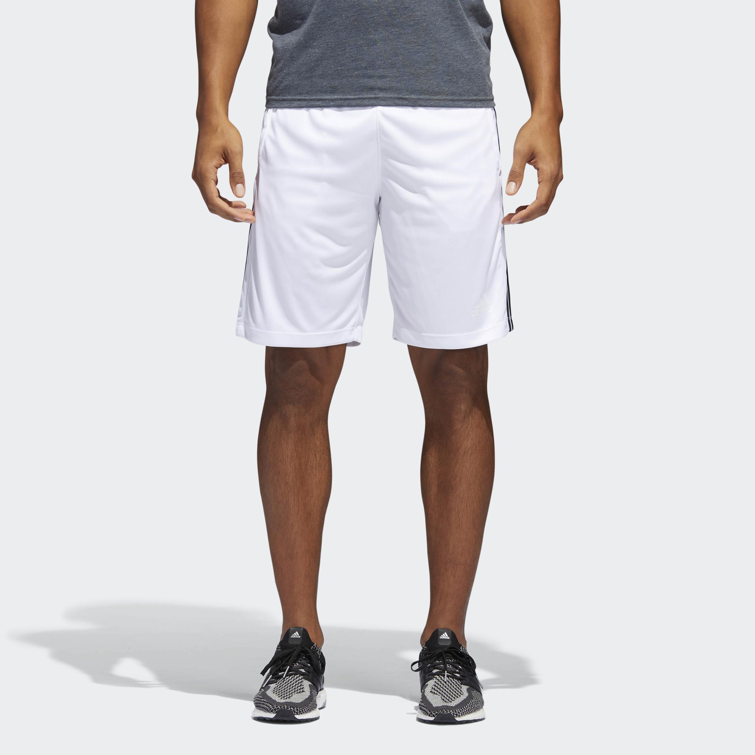 adidas-D2M-3-Stripes-Shorts-Men-039-s thumbnail 13