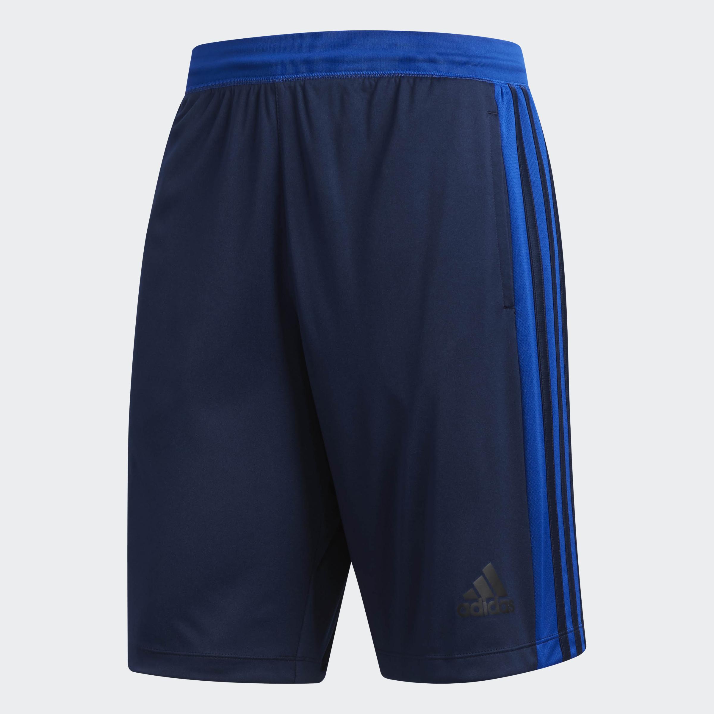 adidas-D2M-3-Stripes-Shorts-Men-039-s thumbnail 10