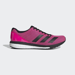adidas Adizero Boston 8 Wide Shoes - Pink | adidas US