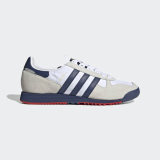 old school white adidas shoes