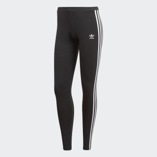 adidas 3 Stripes Leggings Svart | adidas Sweden