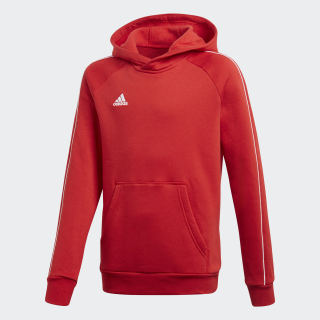 Sweat Capuche Core 18 Rouge adidas