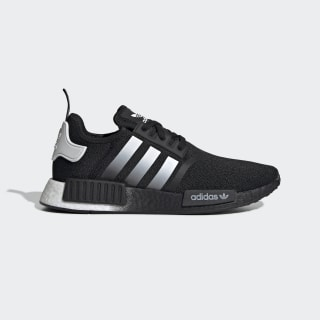 Men S Nmd R1 Core Black And White Shoes Adidas Us