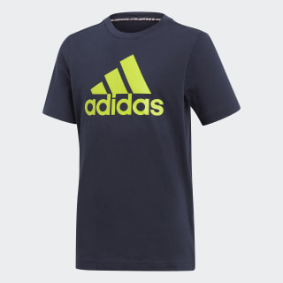 adidas Must Haves Badge of Sport t skjorte Hvit   adidas