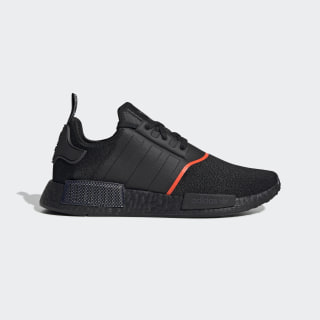 Nmd R1 Core Black And Solar Red Shoes Adidas Us