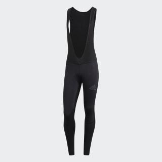 Cuissard long à bretelles Climawarm Padded Winter Noir adidas | adidas France