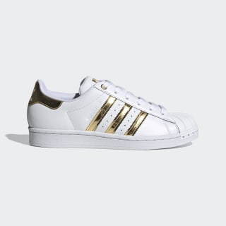 adidas superstar metallic toe gold