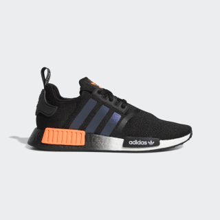 Nmd R1 Core Black And Solar Orange Shoes Adidas Us