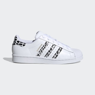 adidas superstar shoes white gold