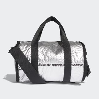 adidas Mini Duffel Bag - Silver