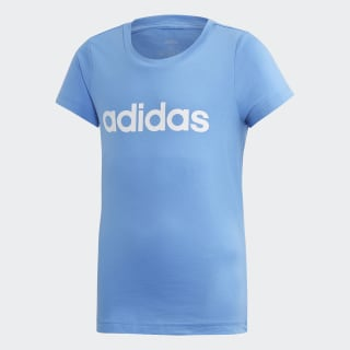 T shirt Essentials Linear Bleu adidas | adidas France