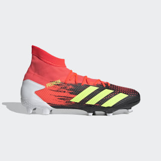 adidas Predator 20.3 Firm Ground Cleats - Black