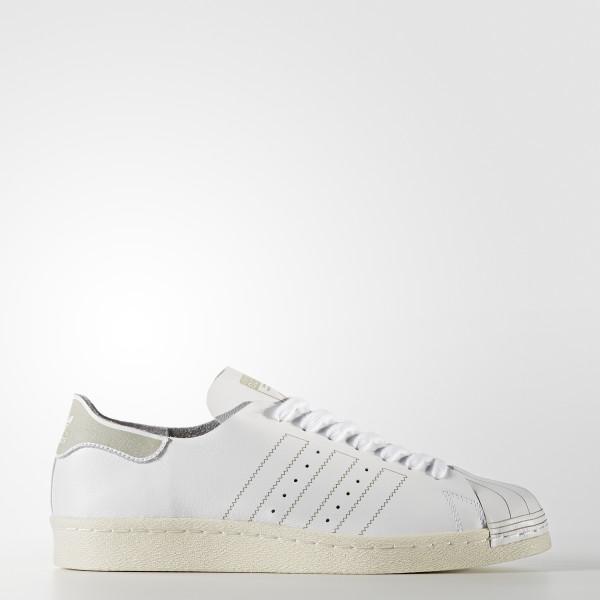 Adidas Superstar Blanc Chaussure Decon France 80s nIdOqOS