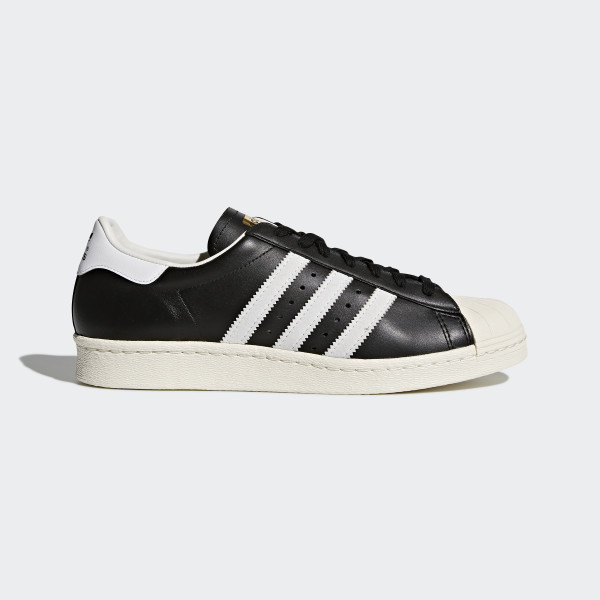 Chaussure Adidas Noir Superstar 80s France qt8qwSFrB