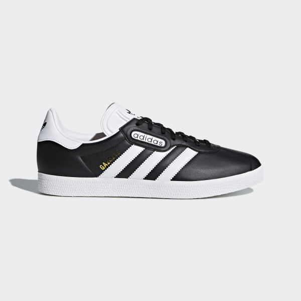 official photos c3631 0183f Scarpe Cup Nero Adidas Super Gazelle Essential Italia World rqw5CaBnr