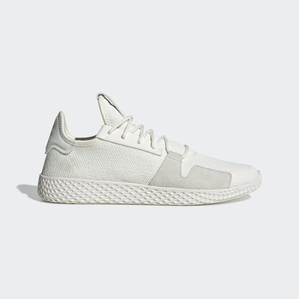 Williams Tennis Hu V2 Chaussure Adidas Blanc Pharrell PXuZiOk