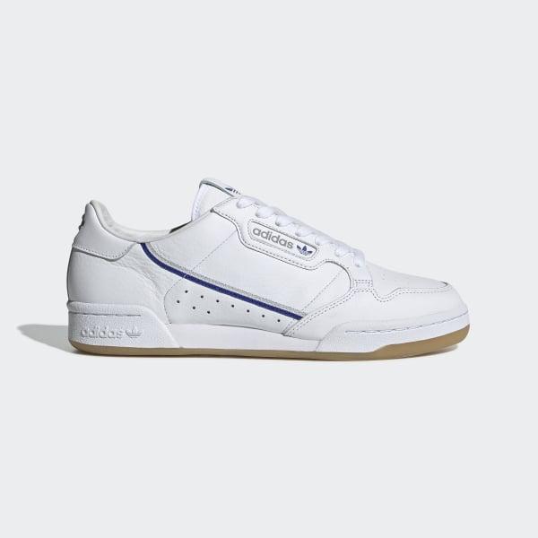 Schoenen X Wit Originals 80 Continental Adidas Tfl bDeIYWEH29