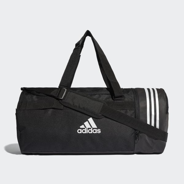 Mediana Negro Adidas Convertible Bandas Bolsa De Deporte 3 wUxzE