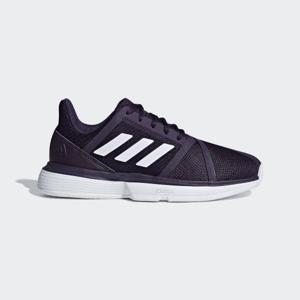 Zapatilla España Bounce Courtjam Adidas Violeta rpSIrXFn