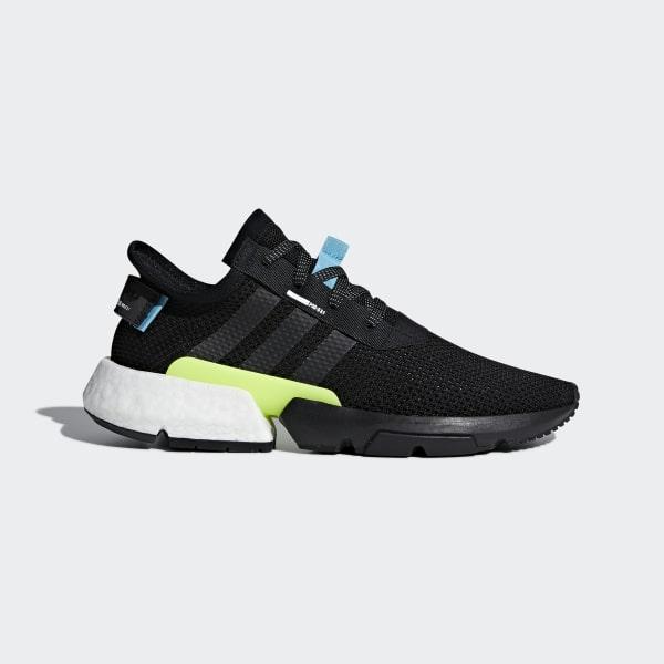 1 Adidas S3 Black Uk Shoes Pod 7ZxRqfw4