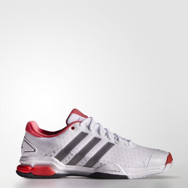 Blanco De Team 4 Colombia Barricade Zapatos Adidas Tennis 7AwwZ