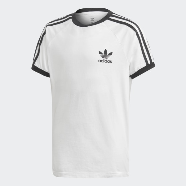 3 Stripes Shirt Bianco T Italia Adidas HvRBz