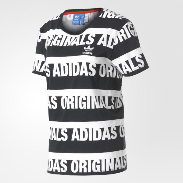 Argentina Bf Remera Originals Negro Adidas Trefoil FdwfqXwCxE