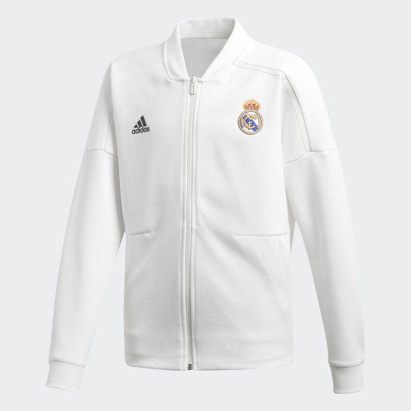 Madrid Mexico Adidas Blanco Real Zne Chamarra 2018 xEF1aFPwq