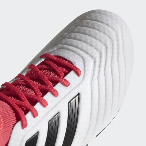 Scarpe Adidas 18 Predator Da Soft Ground 3 Bianco Calcio oCerdBWx