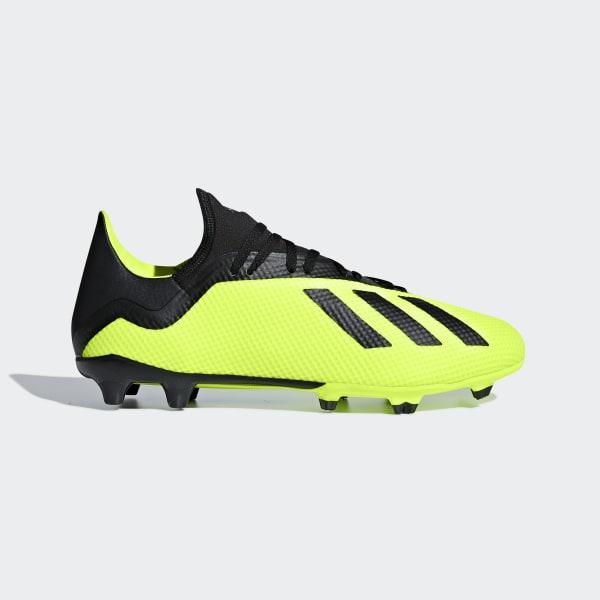 finest selection 1fd1c 494b3 3 Ground 18 Italia Adidas Scarpe Firm Calcio Giallo X Da 7Yx