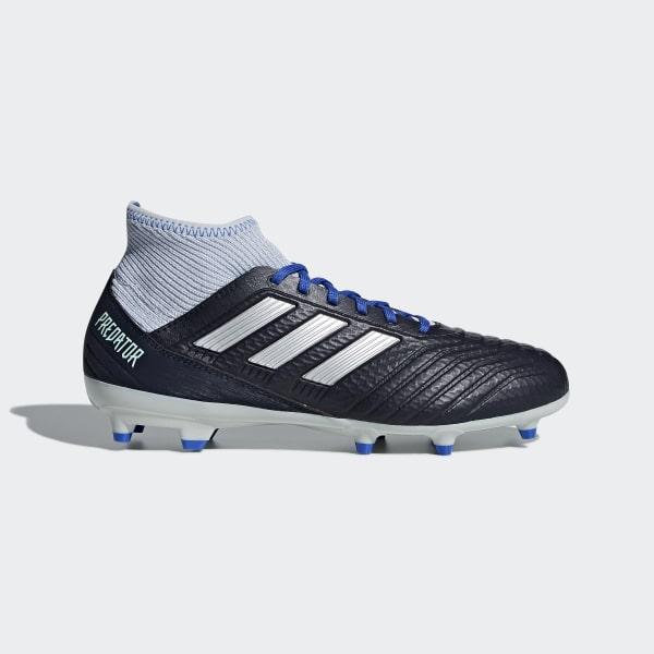 sports shoes 76aed bccd5 Da Blu Adidas Firm 3 Predator 18 Italia Calcio Ground Scarpe AqfdHA