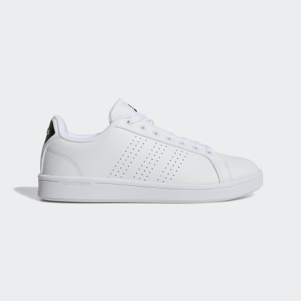 Advantage Us Shoes Clean Adidas White Cloudfoam zwvff