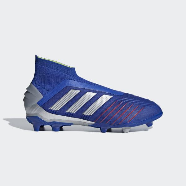Scarpe Blu Adidas Calcio 19 Italia Firm Predator Ground Da BBwrqZ