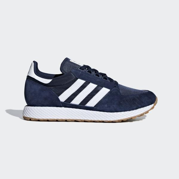 Canada Adidas Forest Grove Bleu Chaussure qx46gZ