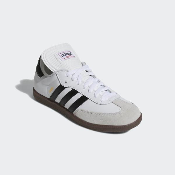 more photos a8b00 4988c ... ADIDAS Chaussures de football SAMBA  Samba Classic Shoes Cloud White  Black Cloud White 772109 ...