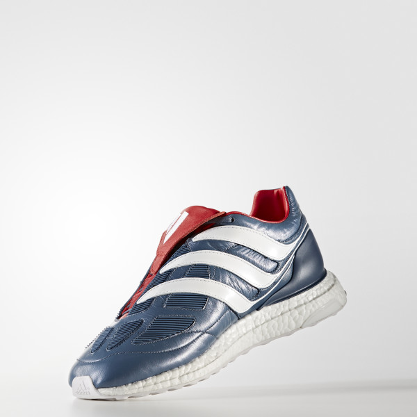 ... Adidas predator precision  first rate 2f8a2 cc79b Predator Precision  Ultra Boost Shoes Blue Grey Cloud White Collegiate Red CM7913 ... 70aad5479