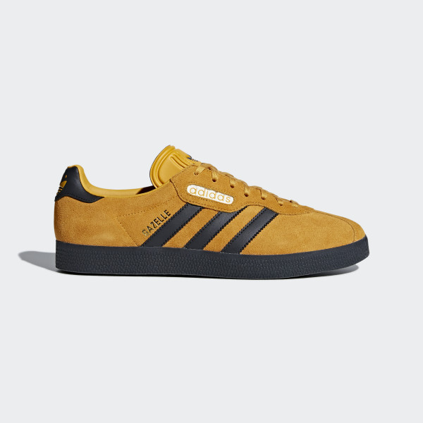 huge selection of 81956 f4225 ... Gazelle Super Shoes Yellow Carbon Off White CQ2795 ...