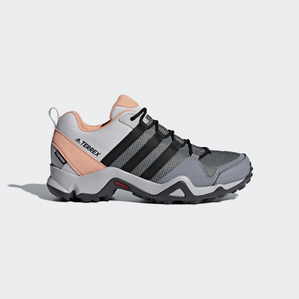 Terrex AX2 Climaproof Shoes Grey   Core Black   Chalk Coral CM7474 f52e276cfee