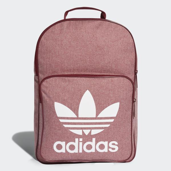 cd54edb829 Trefoil Casual Backpack Collegiate Burgundy   White D98924