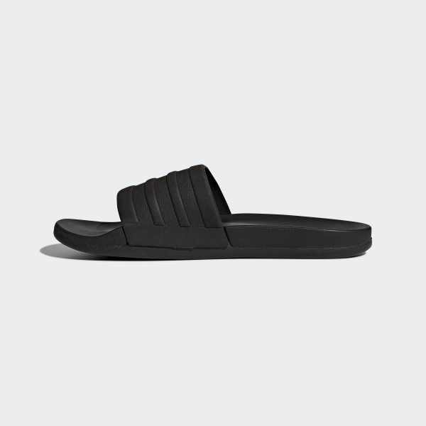 adidas adilette cloudfoam plus mono slides black adidas us