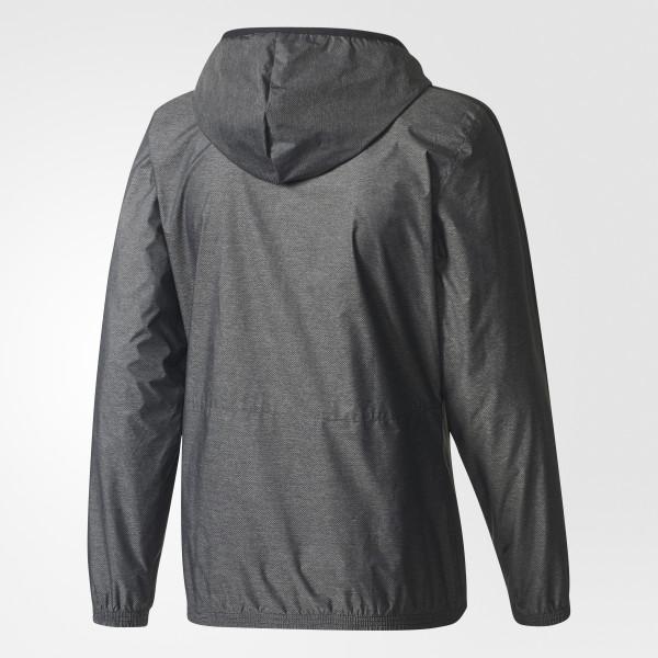 Essentials 3-Stripes Wind Jacket Black / White / Black BQ9653. Nike Winter FZ Zip Hoody Mens