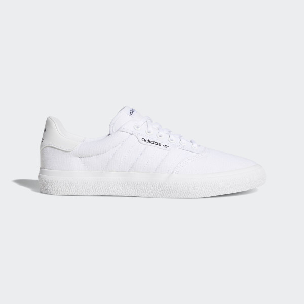 online store 4fdf2 aa3ef Adidas 3MC Vulc White Shoes in 2018 Sneakers t Shoes