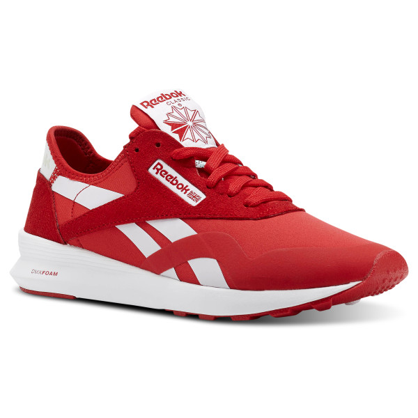 5e6819236 Classic Nylon Og Blocking 2-Primal Red White Timeless CN5117; Reebok ...