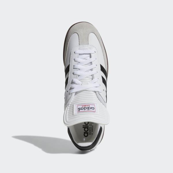 new arrival d73ea 475ba ... adidas Originals SAMBA G17102, Baskets mode homme B003QYYJAO Samba  Classic Shoes Cloud White Black Cloud White 772109 ...