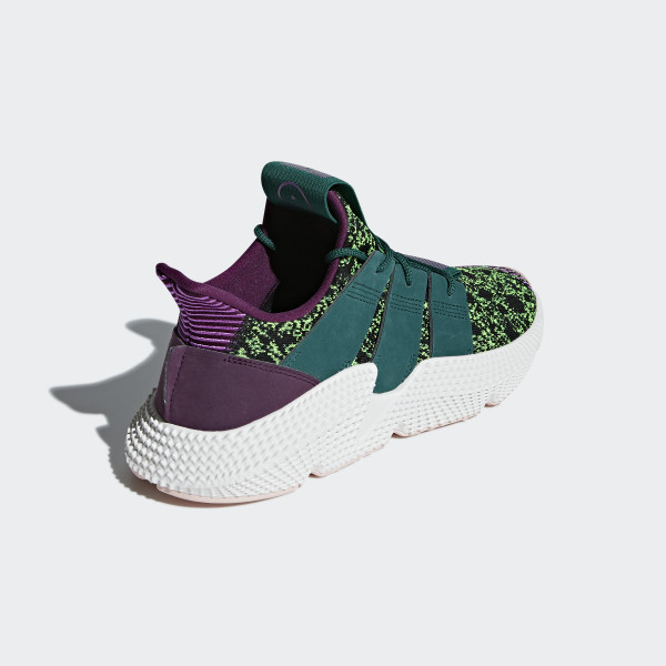 new style 88ddb 2fe70 adidas WMNS Prophere - Triple White. Prophere Shoes Base Green  Shock  Purple  Supplier Colour D97053