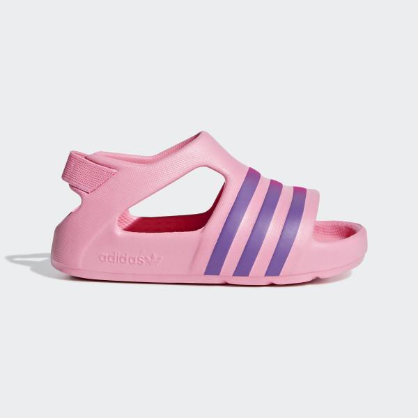 adidas adilette play slides pink adidas new zealand