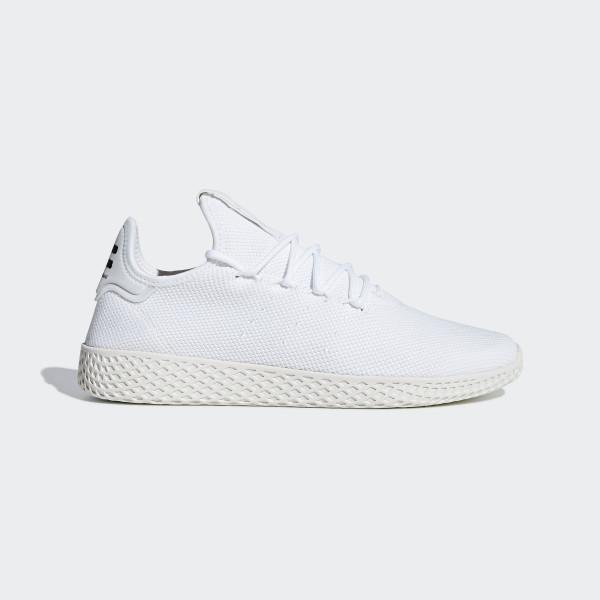 newest 14e12 febf0 Chaussure Pharrell Williams Tennis Hu Ftwr White   Ftwr White   Chalk White  B41792