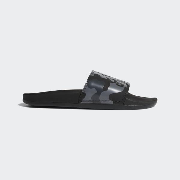 best sneakers 0a89e 718e0 Adidas Women39s Adilette Cloudfoam Plus Graphic Slides Black