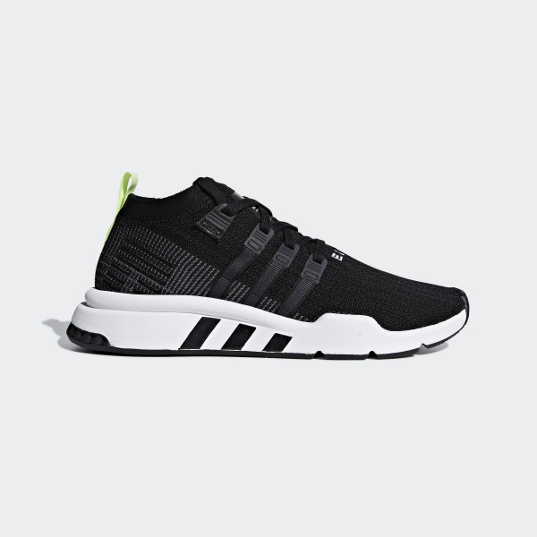 detailed look 6c8b5 886af EQT Support Mid ADV Primeknit Shoes Core Black  Grey Five  Ftwr White  B37435
